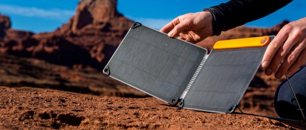 The BioLite SolarPanel 10+ is an eco-friendly cool gadget for adventurers