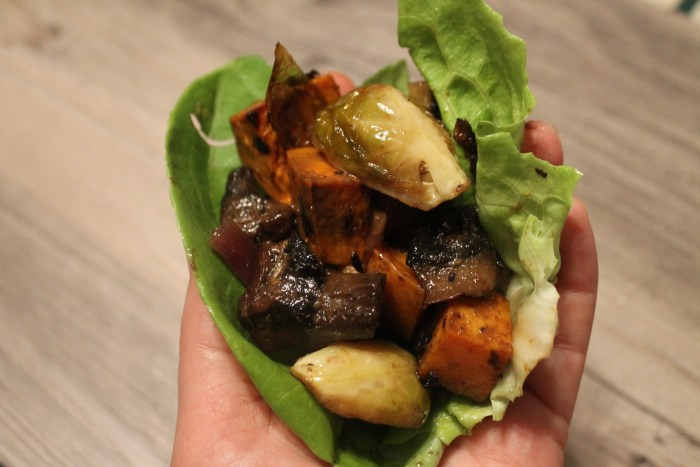 Smoky Mustard Roasted Vegetables | The Lazy Vegan Baker