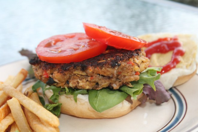 Mediterranean Veggie Burgers | The Lazy Vegan Baker