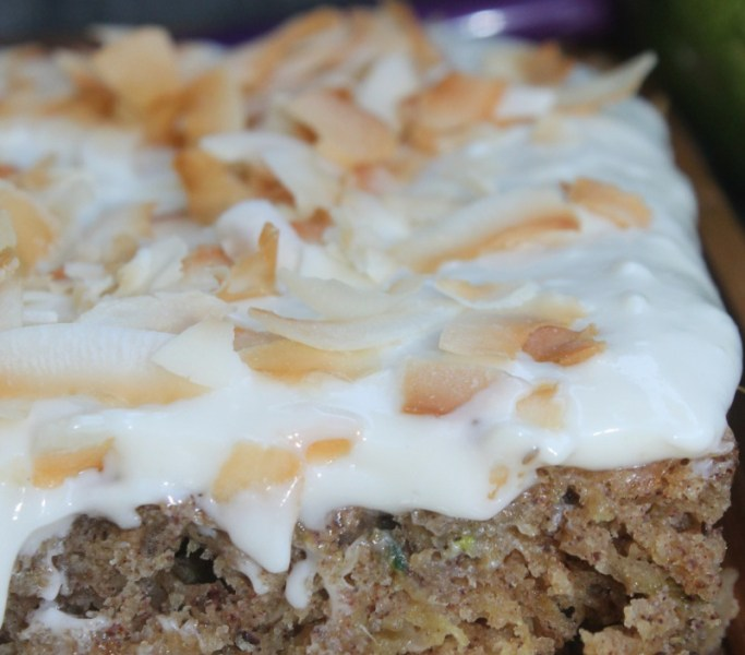 Tropical Zucchini Cake | The Lazy Vegan Baker