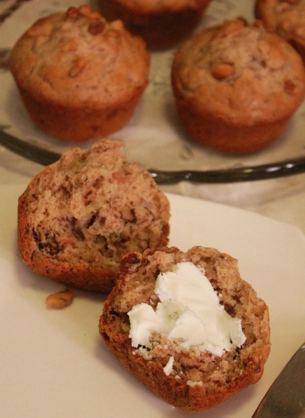 Maple Walnut Muffins | The Lazy Vegan Baker