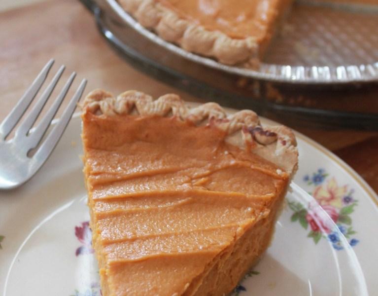 Real Sweet Potato Pie | The Lazy Vegan Baker