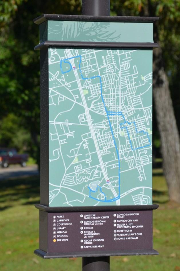 Conroe Pedestrian and Transit Improvements