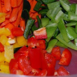 The Nutty Pepper Stirfry