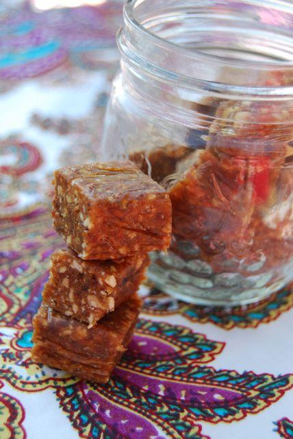 Like Larabars? You're just a few ingredients away from a homemade version! Cut them up for the kids or leave them as a bar for adults!