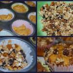 Pumpkin Gingersnap Muffins