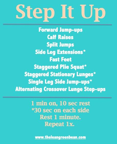 Step It Up Cardio Workout