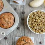 Lentil Banana Muffins - perfect for breakfast or snack