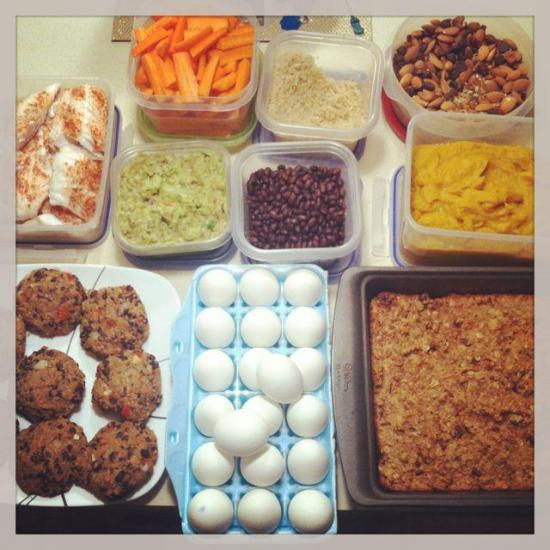 weekend prep for easy weekday meals