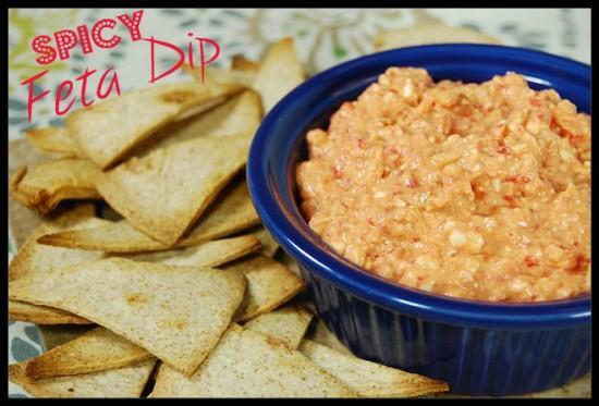 Spicy feta dip