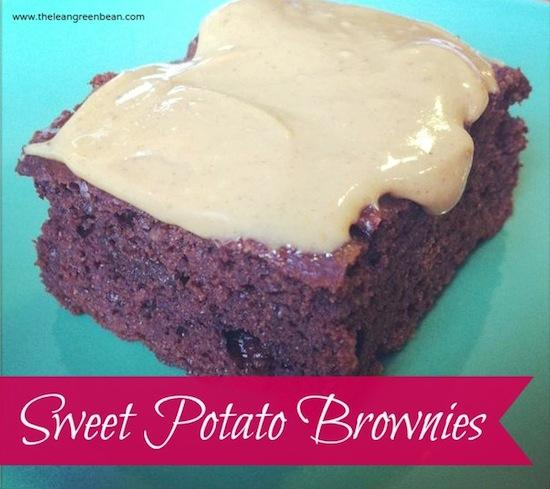 These Gluten-Free Sweet Potato Brownies are sweetened with dates and so delicious and full of chocolate flavor you'd never guess they're somewhat healthy!