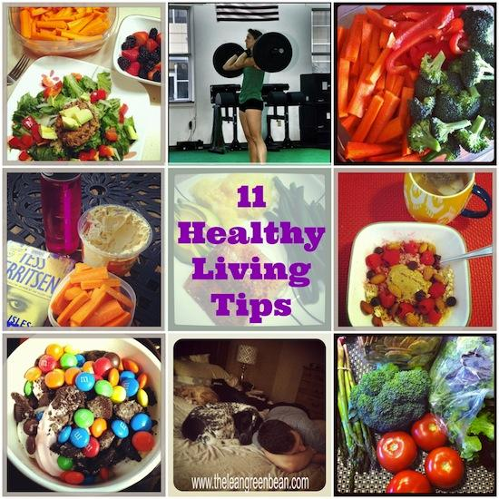 Healthy living doesn't have to be complicated. Here are 11 Healthy Living Tips from a Registered Dietitian that you can start practicing today!