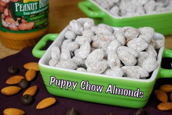 Puppy Chow Almonds
