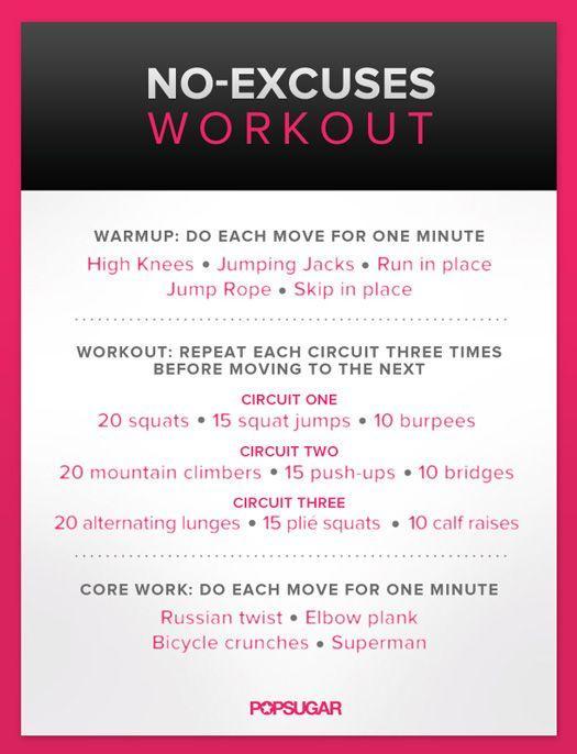Circuit Training Full Body Workout Workout Ideas Pinterest