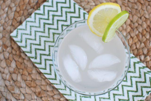 Skip the store-bought soda and make this low-sugar Homemade Gingerale to sip on!