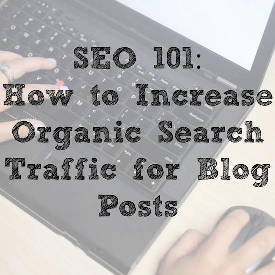 Want to learn more about optimizing your blog posts for organic search traffic? Check out these SEO tips!