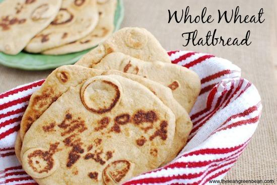 whole wheat flatbread.jpg Whole Wheat Flatbread