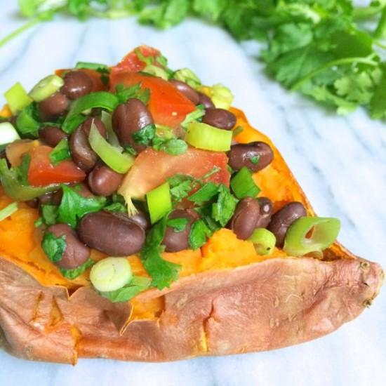Sweet-Potatoes-Stuffed-with-Black-Bean-Salsa-The-Lemon-Bowl