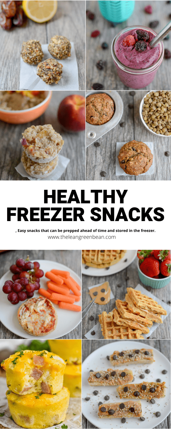 Need some healthy snack ideas to feed your kids after school? Here are some easy, nutritious ideas that you can prep ahead of time and freeze!