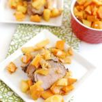 10 Minute Sweet Potato and Apple Saute