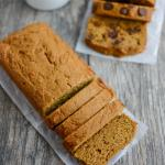 Easy Pumpkin Bread with Chocolate Chips