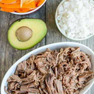 Slow Cooker Shredded Beef (Barbacoa)