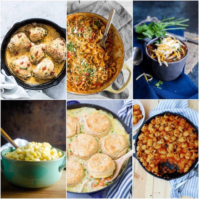 One Pot Comfort Meals