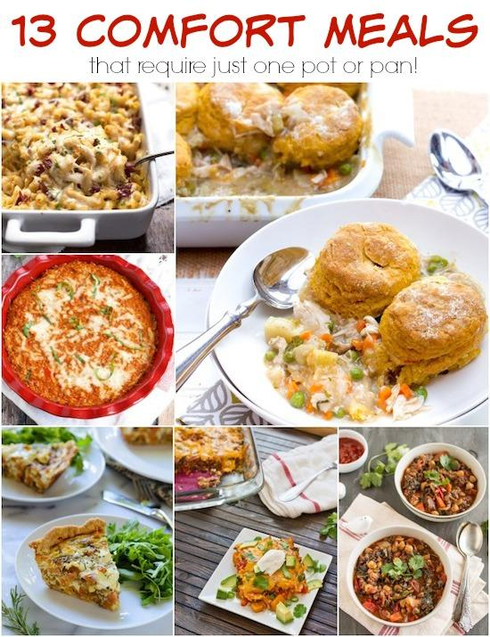Look for easy dinner ideas that won't leave you with a sink full of messy dishes? Here are 13 one pot meals to inspire you.