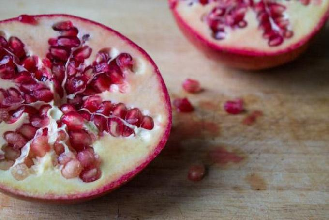 Brussels Sprouts with Pomegranate Seeds-2