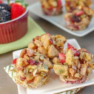 Berry Crunch French Toast Cups