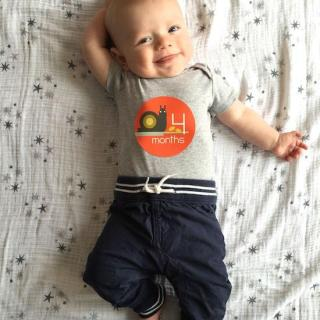 4 months baby