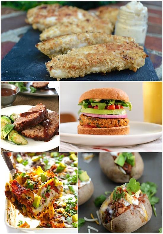 A Week of Gluten-Free DInners