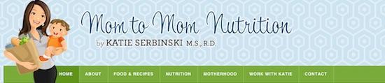 mom to mom nutrition