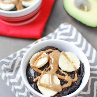 Nutrient dense and made with just four ingredients, this Chocolate Avocado Pudding makes a great snack or dessert!