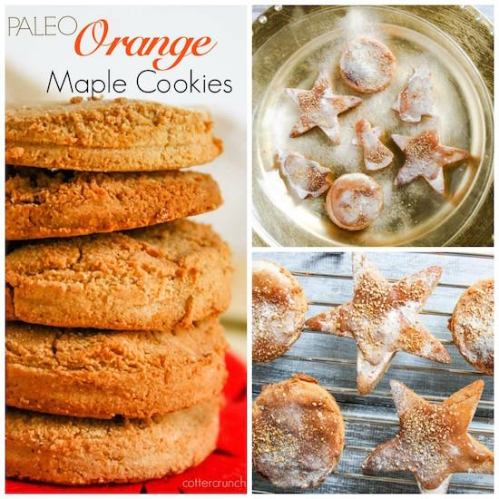 Paleo Orange Maple Sugar Cookies