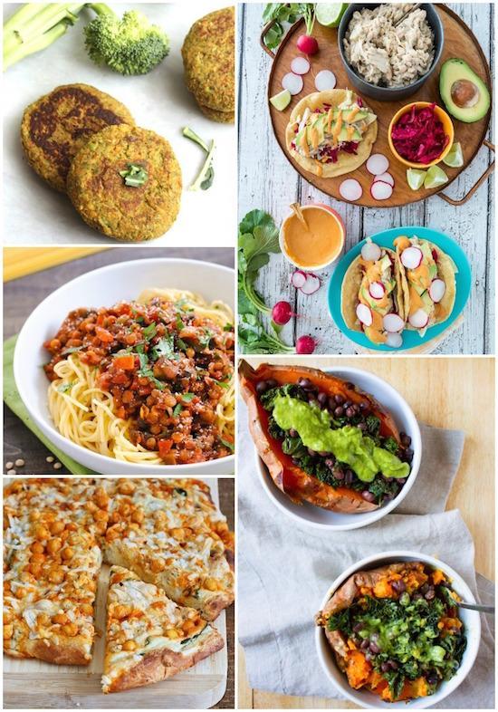 A week of vegan dinners