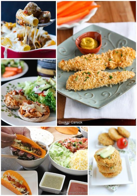 Some new kid-friendly dinner ideas!