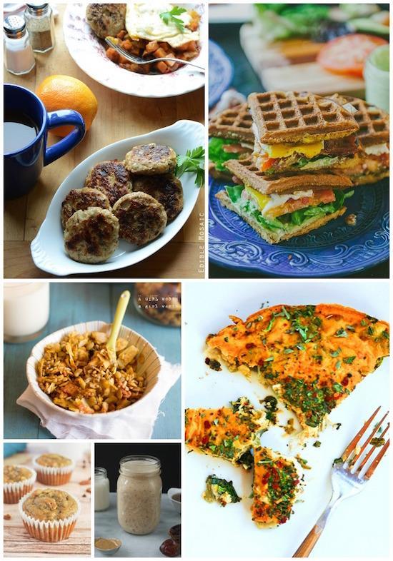 A week of paleo breakfast ideas
