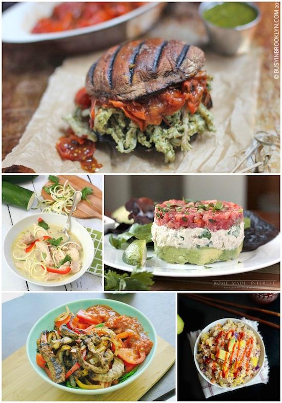 A week of paleo lunch ideas