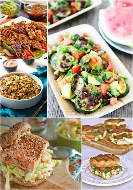 Delicious recipes you can make on the grill for lunch!