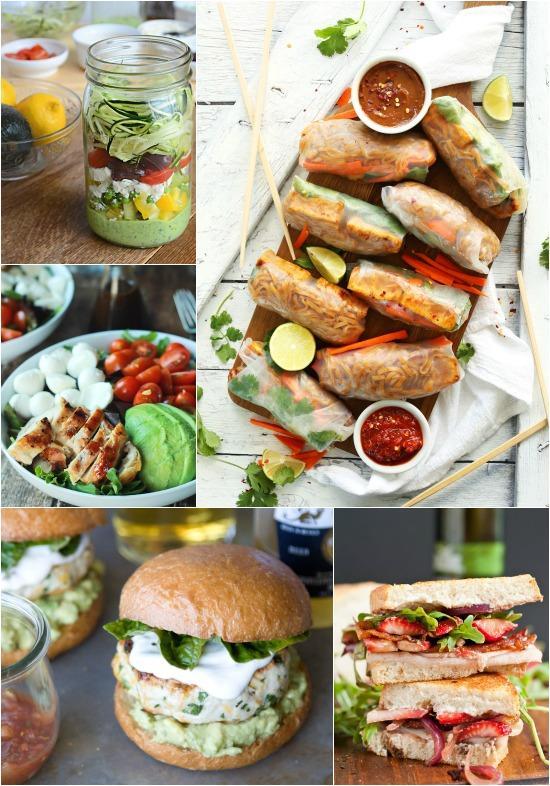 A Week Of Summer Lunch Ideas