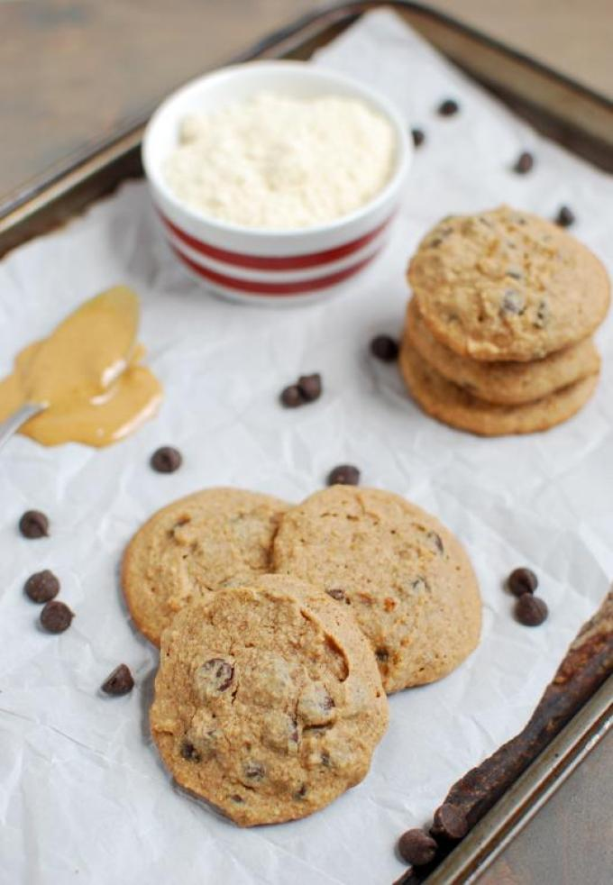 This recipe for Small Batch Chocolate Chip cookies is gluten-free, paleo-friendly and makes just 6 cookies.