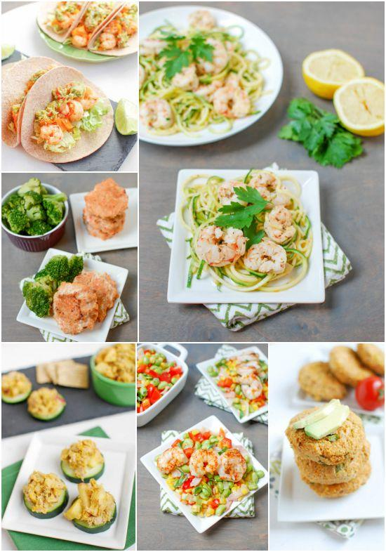 Healthy tuna and shrimp recipes