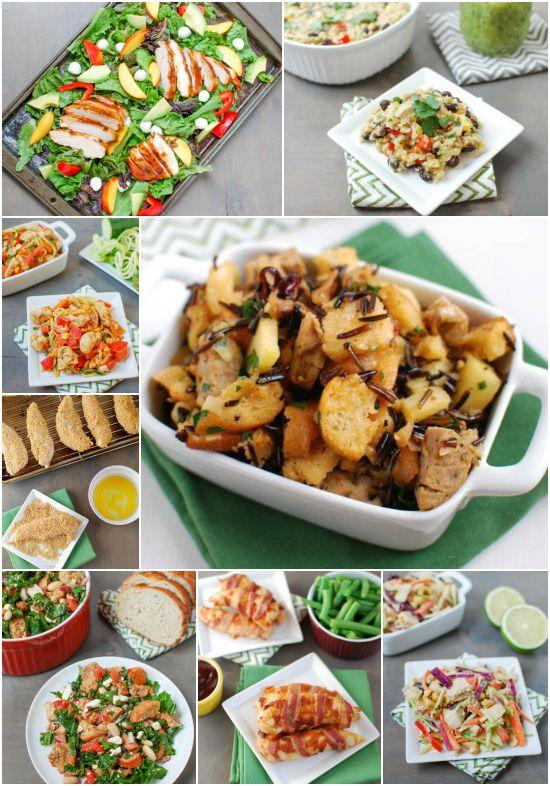Healthy dinner recipes with chicken