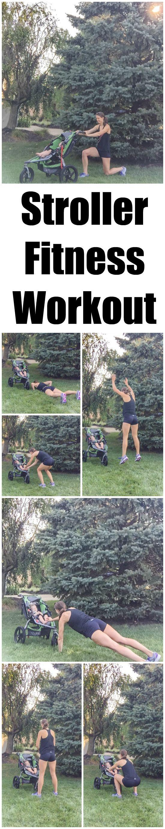 This Stroller Workout is a fun way to break up your next walk or run by adding short fitness breaks that include lunges, squats, burpees and planks. Fun for you AND baby!