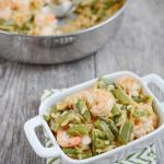 One Pot Shrimp and Orzo