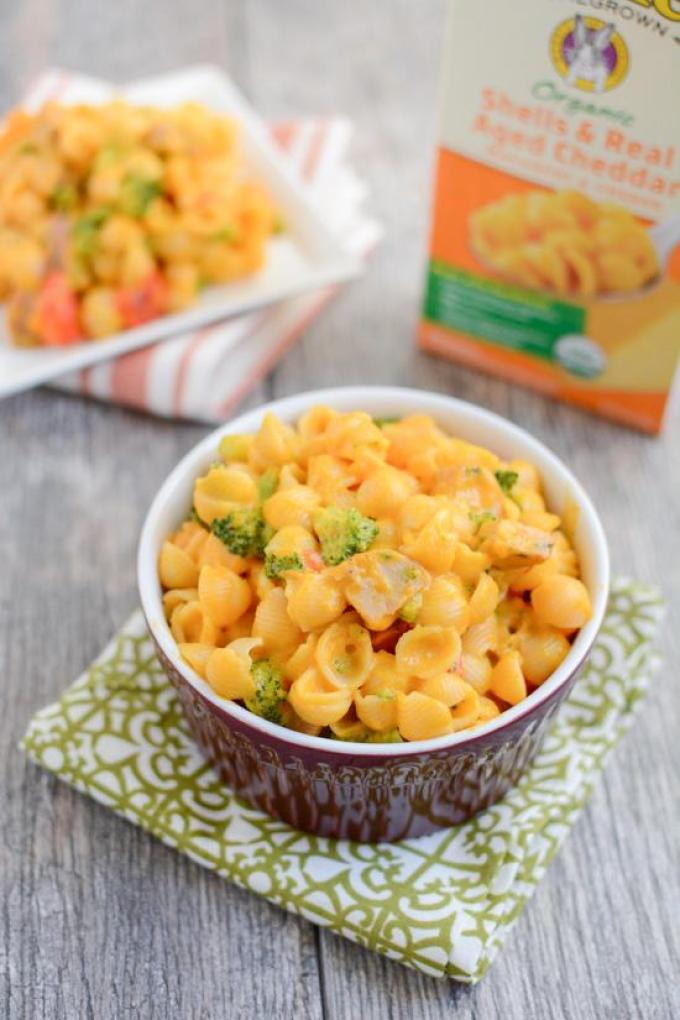 Packed full of vegetables, these kid-friendly recipes use Annie's products as a base to make three quick, wholesome lunch or dinner ideas the kids will love!