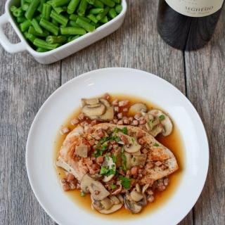 This recipe for Gluten-Free Chicken Marsala is quick, easy and full of flavor. Simple enough for a weeknight dinner or fancy enough for date night in!