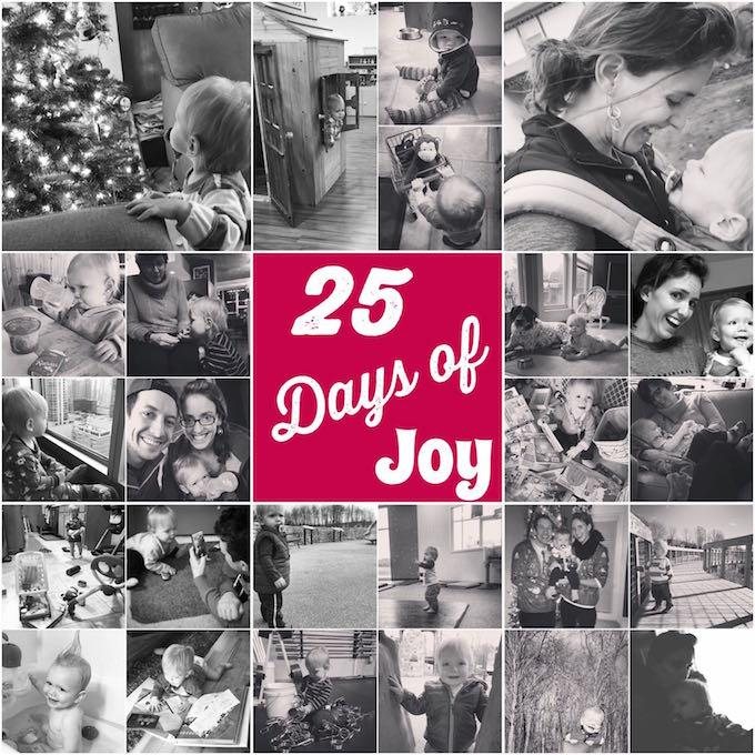 25 days of joy