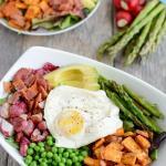 Spring Breakfast Salad